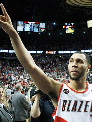 Brandon Roy do Portland Trail Blazers (Foto: AP)