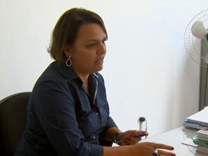 a diretora de finanças de São João, Natália Villela Santos. (Foto: Eder Ribeiro/ EPTV)