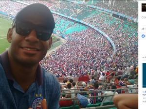 Rogério Souza da Silva, de 32 anos, não resistiu aos ferimentos (Foto: Reprodução / Facebook)