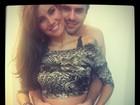 Mariana Felício fotografa com barriga de 5 meses