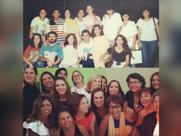 Turma psicologia 1986 MS (Foto: Bernadete Freire Campos/ Arquivo Pessoal)