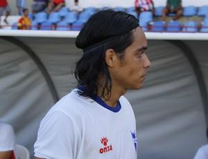 Patrick, do São Domingos, é chamado de Apodi pelos companheiros (Foto: Caio Lorena / GloboEsporte.com)