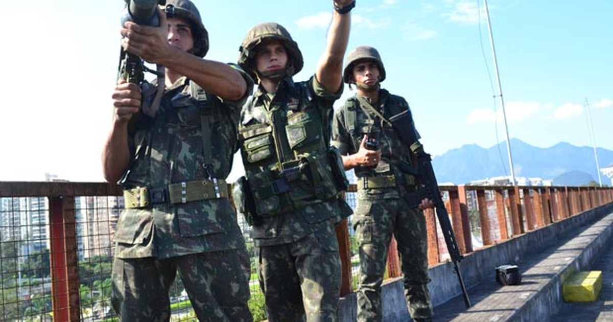4596145946 G1 - Exército posiciona mísseis para abater ameaças ao Riocentro - notícias  em Rio+20