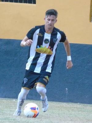 Ronicley, meia do Atlético-ES (Foto: Wildson Lesqueves/Atlético-ES)