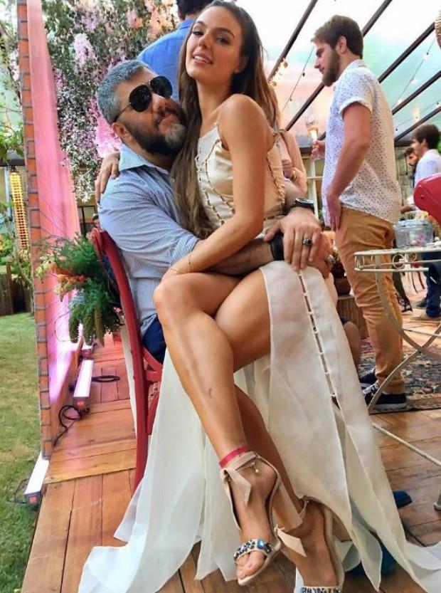 Ton Reis e Isis Valverde (Foto: Reprodução / Instagram)