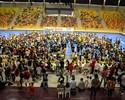 Peneira para jogar em time de Falcão atrai multidão no interior de São Paulo