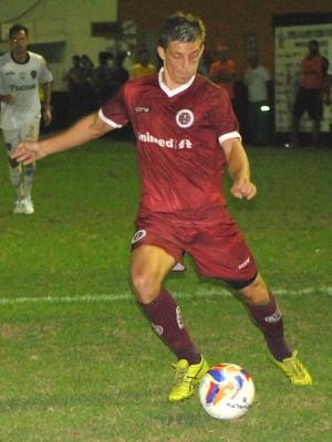 Thales, atacante da Desportiva (Foto: Henrique Montovanelli/Desportiva Ferroviária)