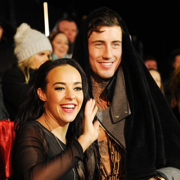 Stephanie Davis e o ex, Jeremy McConnell (Foto: Getty Images)