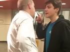 Após fúria por causa de macarrão, estudante tenta punição leve nos EUA