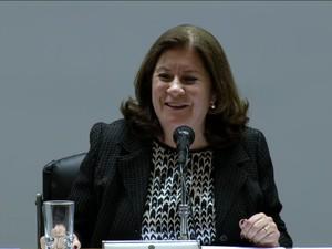 Ministra do planejamento, Miriam Belchior (Foto: Reprodução GloboNews)
