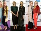 Confira o estilo excêntrico das irmãs Olsen, que completam 27 anos