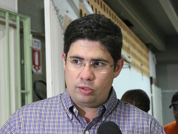 Hissa conversou com G1 entre apresentações do Boi Manaus (Foto: Camila Henriques/G1 AM)