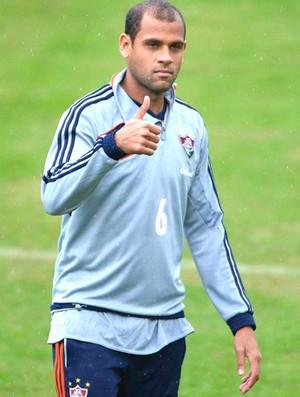 Carlinhos treino Fluminense (Foto: Moyses Fernam / Agência estado)