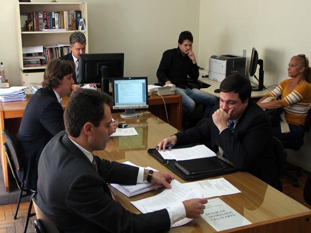 Audiência ouve testemunhas de acusação de médico em Poços de Caldas (Foto: Jéssica Balbino / G1)