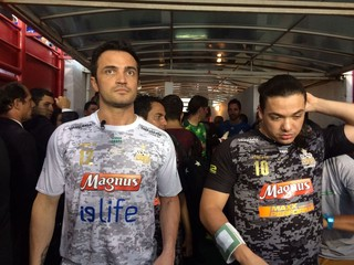 Falcão Wesley Safadão (Foto: Fabíola Andrade / SporTV)