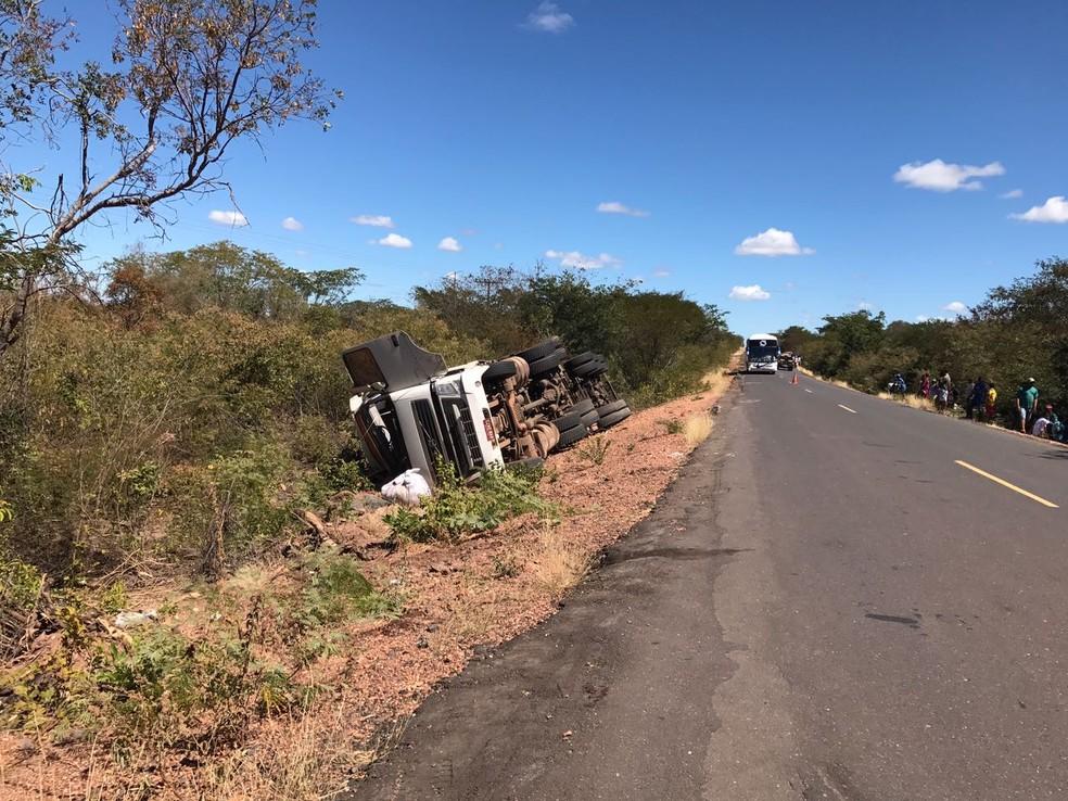 Rodovia da morte registrou 45 acidentes este ano (Foto: Neyara Pinheiro)