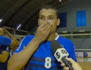 Carlão São José Vôlei (Foto: Reprodução/ TV Vanguarda)