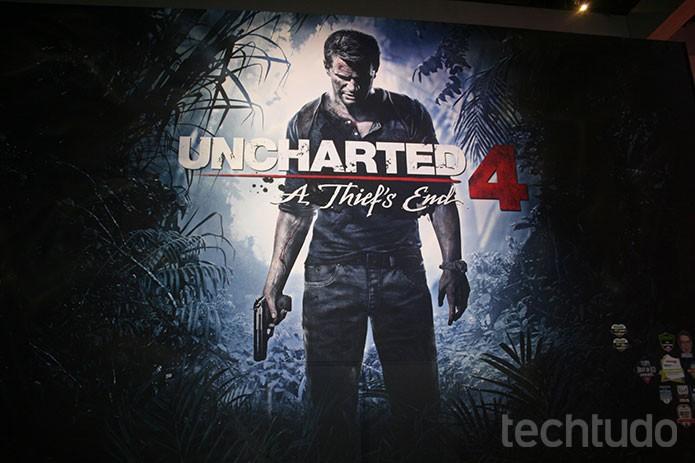 Uncharted 4 (Foto: Tais Carvalho / TechTudo)