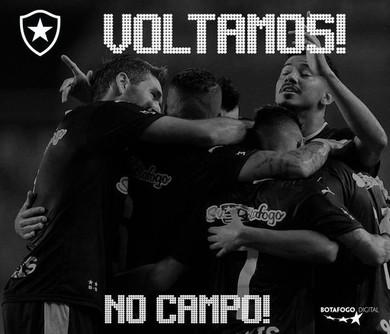 Botafogo redes sociais (Foto: Reprodução / Instagram)