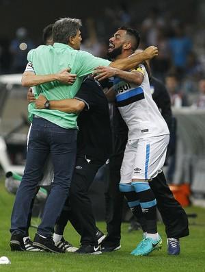 Renato Atlético-MG x Grêmio  (Foto: Lucas Uebel/Divulgação Grêmio)