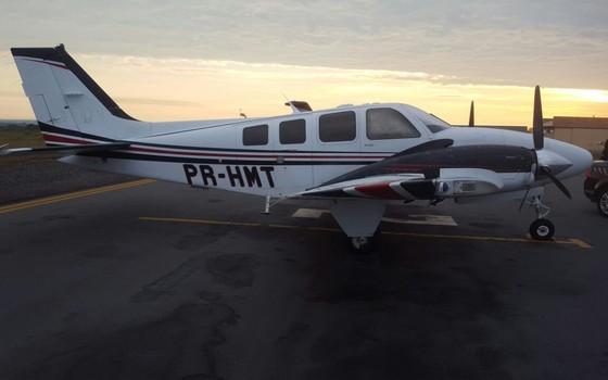 PF descobre que avião foi comprado com dinheiro desviado do SUS (Foto: Reprodução)