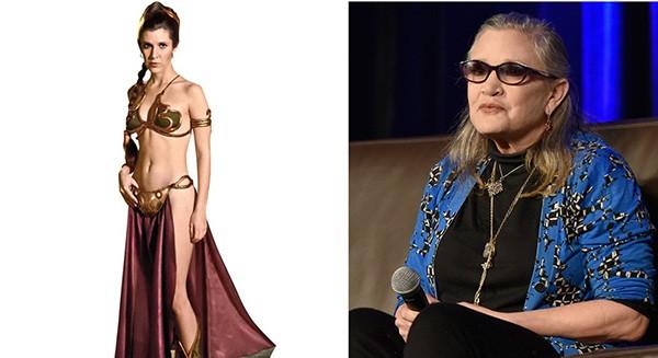 Carrie Fisher em 'Star Wars' (Foto: Reprodução / Getty Images)