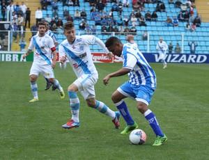 Márcio Diogo Avaí x Paysandu (Foto: Jamira Furlani/Avaí FC)