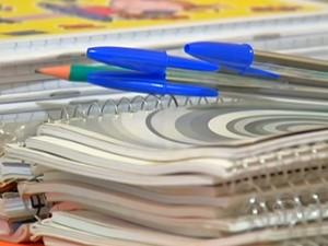 Material escolar (Foto: Reprodução/TV Tapajós)