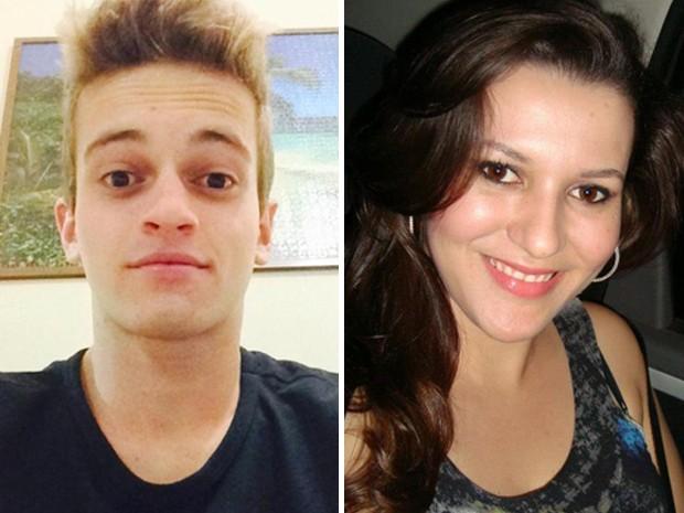 O estudante Leonardo Lucas dos Santos e a fotógrafa Larissa Souza Bottacini também estavam no ônibus que se envolveu em acidente em Ibitinga (Foto: Reprodução/Facebook)