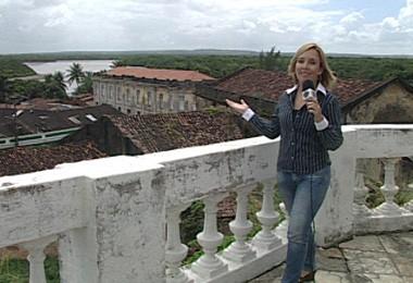 Eugenia Victal visita o Centro Histórico da cidade (Foto: Reprodução)