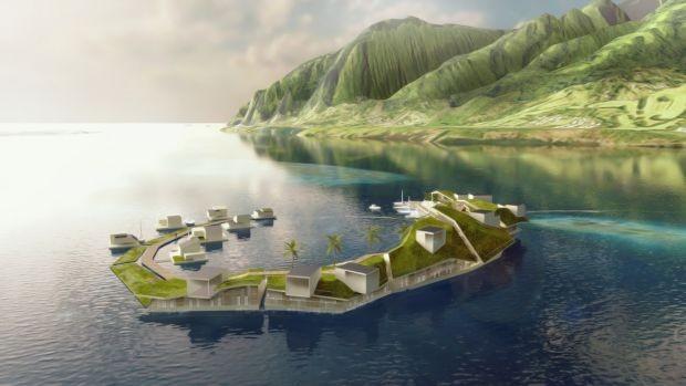 Veja como serão as primeiras cidades flutuantes do mundo