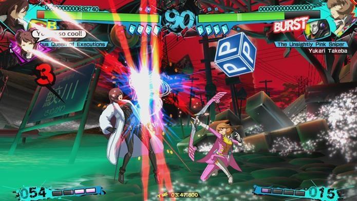 Jogabilidade frenética e bem calibrada é o grande destaque de Persona 4 Arena Ultimax (Foto: Divulgação)