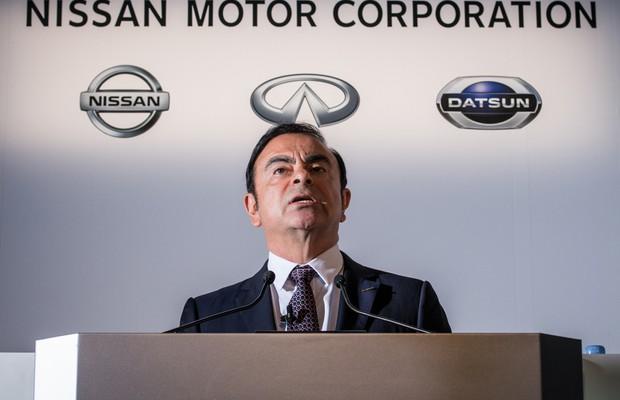 Carlos Ghosn, CEO da Nissan (Foto: Divulgação)
