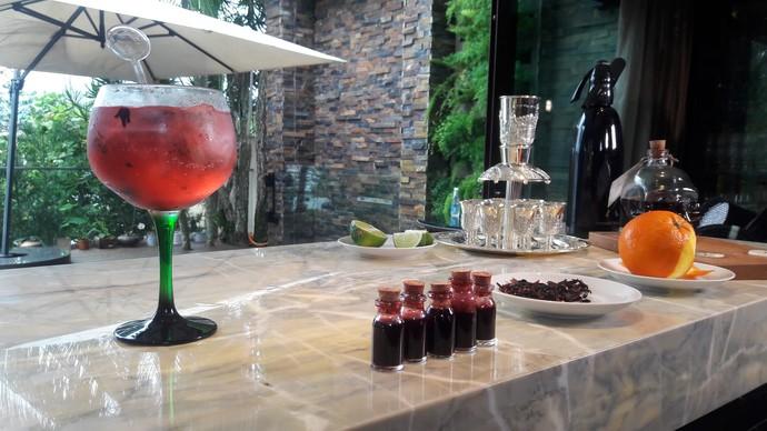 Drinks diferentes são destaque no 'Mistura' (Foto: RBS TV/Divulgação )