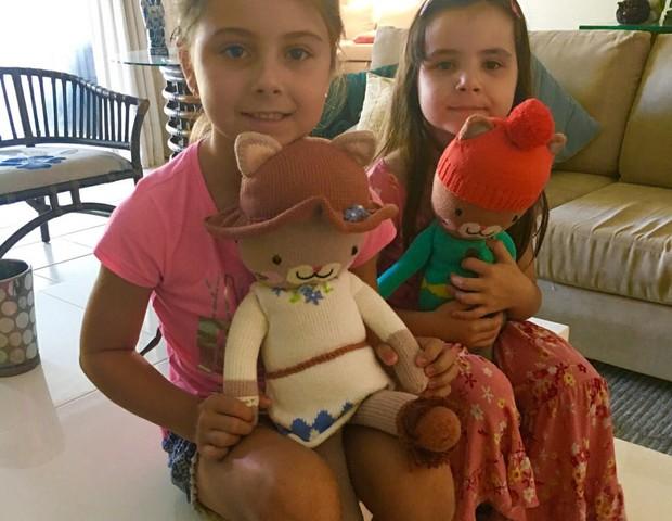 filhas da Patrícia Maldonado (Foto: Arquivo Pessoal)
