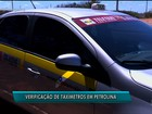 Ipem começa a fazer a verificação anual dos taxímetros em Petrolina