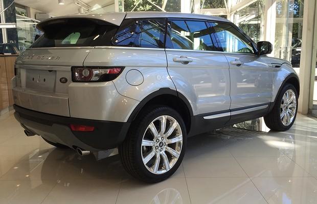 Land Rover Range Rover Evoque (Foto: Guilherme Blanco Muniz/Autoesporte)