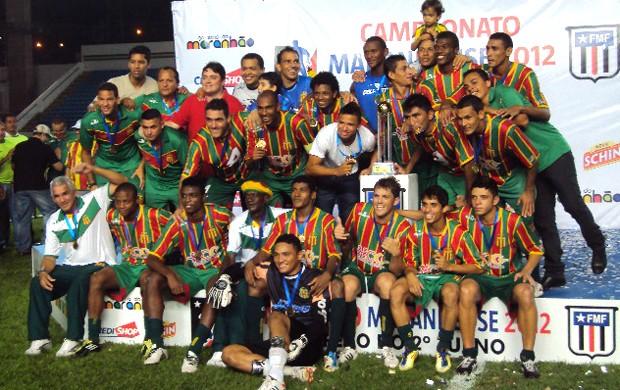 Sampaio conquistou o título de campeão do segundo turno (Foto: Afonso Diniz)