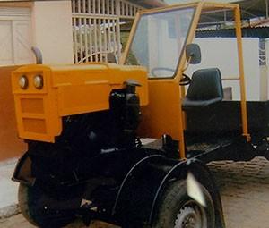 Em 10 anos ele construiu 5 carros (Foto: Reprodução/Inter TV Cabugi)