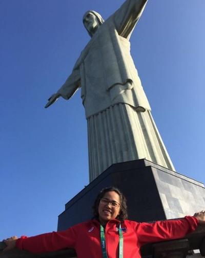 Hidilyn Diaz levantamento de peso Filipnas Cristo Redentor (Foto: Reprodução)
