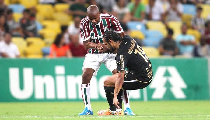 Valencia, Fluminense X Botafogo (Foto: Paulo Sergio / Photocamera)