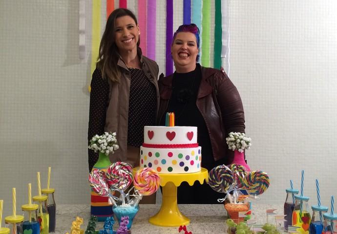 Mistura mostra sugestão de festa infantil  (Foto: RBS TV/Divulgação )
