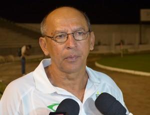Neto Maradona, treinador (Foto: Hévilla Wanderley / GloboEsporte.com/pb)