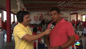 Veja o link do GE na festa de 107 anos do Club Sportivo Sergipe no João Hora