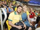 Famosos vão ao Maracanã assistir Uruguai x Colômbia