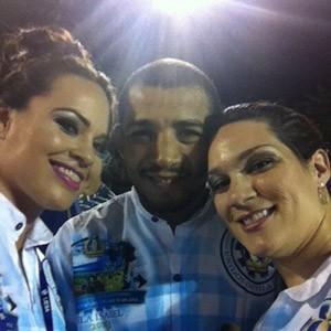 O lutador de MMA José Aldo postou essa foto em sua conta no Twitter (Foto: Reprodução/Twitter)