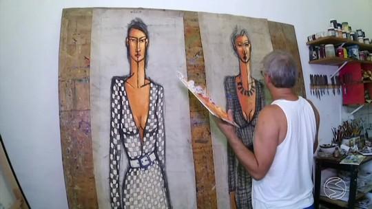 Lonas de caminhão viram obras de arte em Paraty, na Costa Verde do Rio