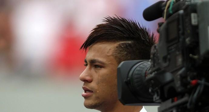 Neymar santos x Flamengo (Foto: Adalberto Marques / Ag. Estado)