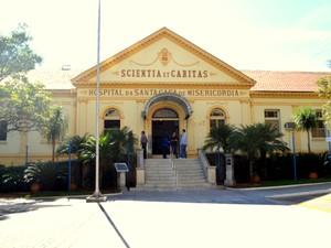 Santa Casa de Misericórdia de Piracicaba (Foto: Claudia Assencio/G1)