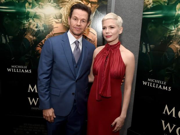 Mark Wahlberg e Michelle Williams (Foto: Getty)